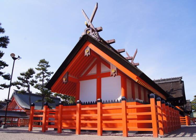 1. Sumiyoshi Taisha: The Main Sumiyoshi Shrine of Over 2000 Nationwide