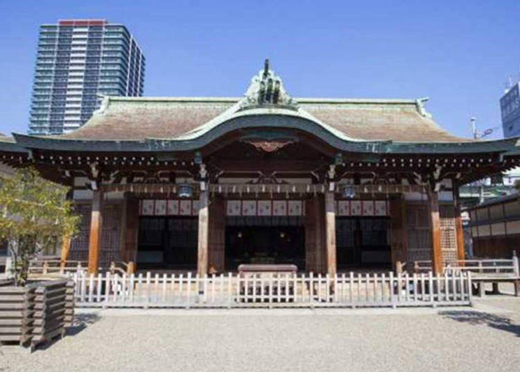 5.商売繁盛・福徳円満の守り神として親しまれる「今宮戎神社」