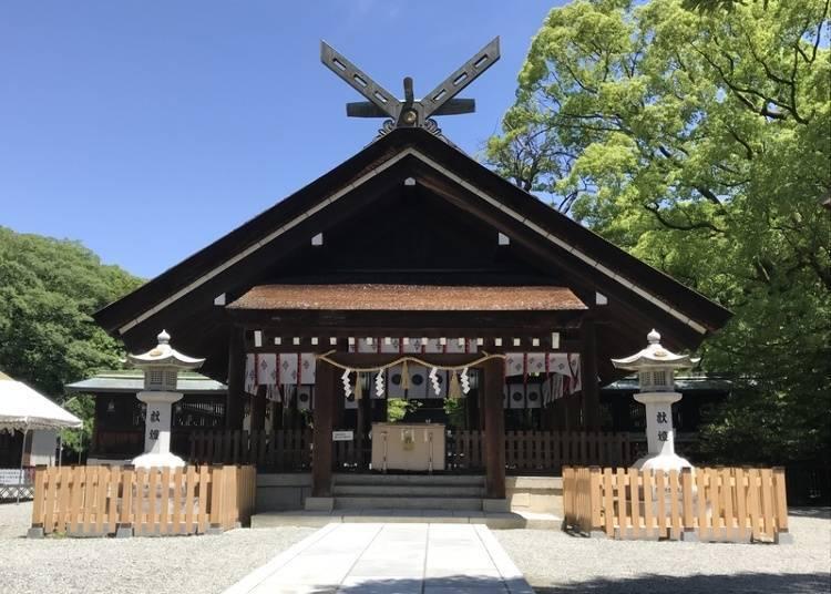 10. 祭祀著日本武尊的古老神社「大鳥大社」