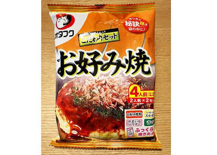 4.大阪名物のお好み焼きが家で簡単に再現できる「お好み焼こだわりセット」