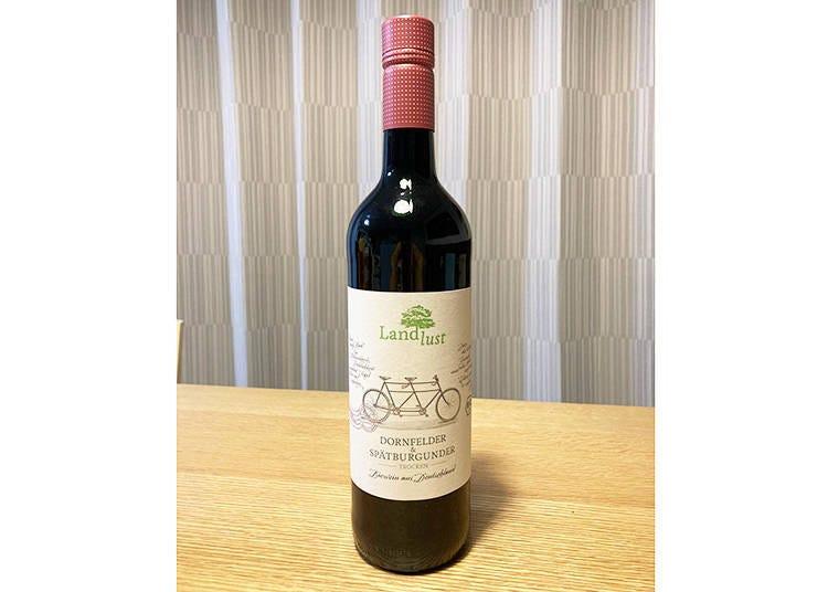 10.  番外篇!這瓶就是想與購買的小菜一同品味的紅酒