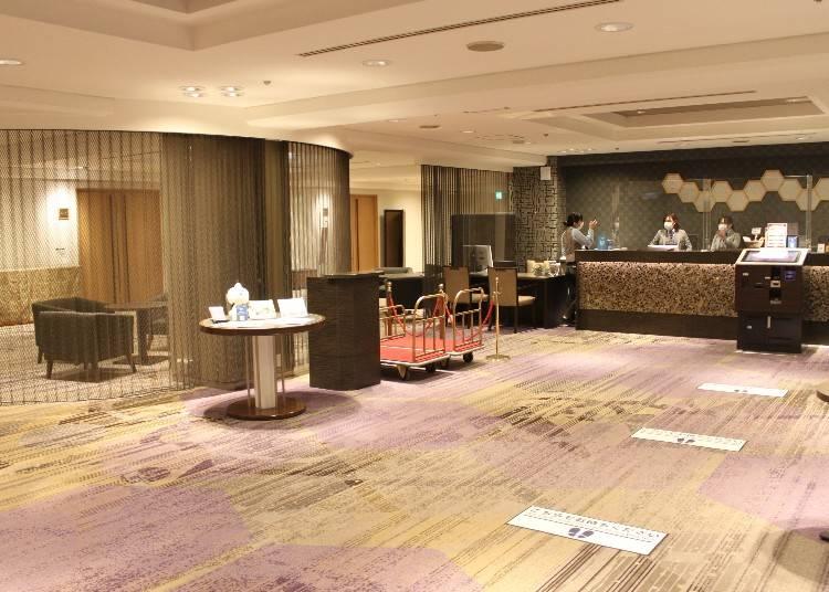 【5~9F】抜群のアクセス!京都の玄関口に建つ「京都タワーホテル」