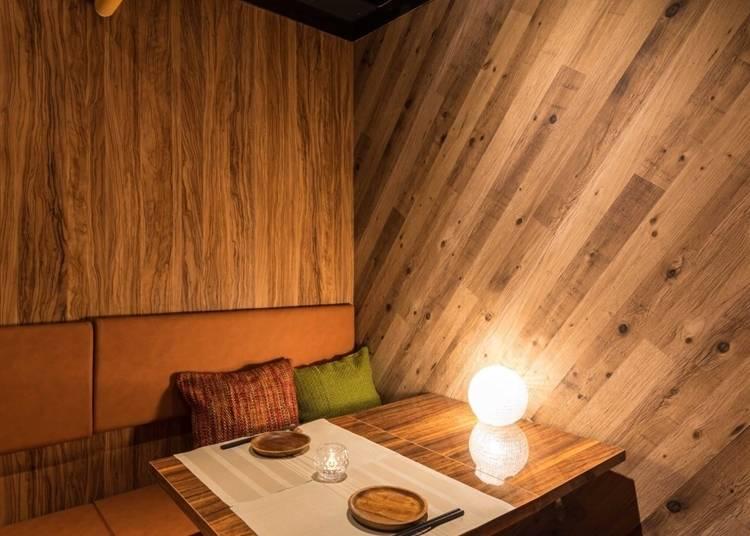 3.多シーンで利用できる完全個室がうれしい「完全個室×海鮮炉端 昴 -SUBARU- 三宮本店」