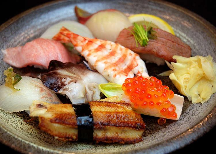 神戸で美味しいお寿司や伊勢海老を食べるならこの店!瀬戸内の新鮮魚介がいただける「活鮨 魚發」&伊勢海老といえば「中納言」
