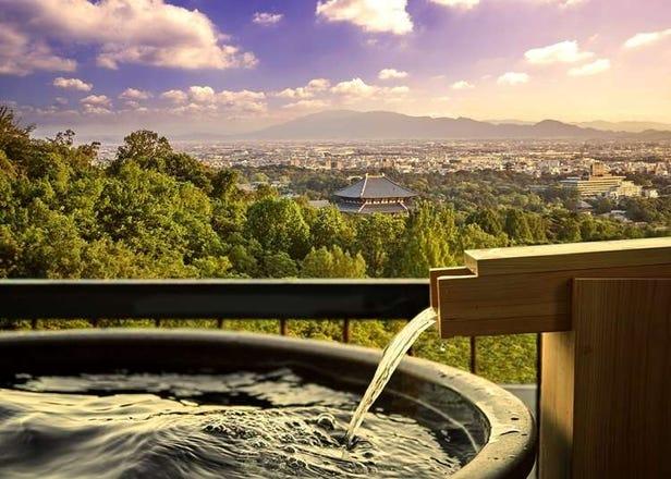 3 Traditional Ryokan in Nara - Enjoy Natural Hot Springs and Scenery!