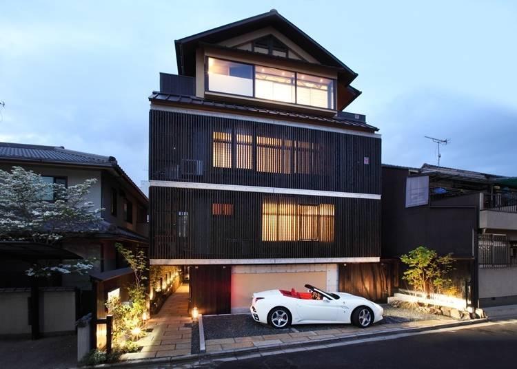 3. 奈良町间风情「奈良町家 和鹿彩 别邸」