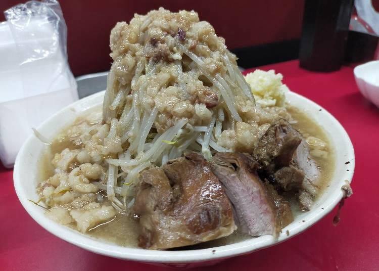 當地人也搶排隊~大阪二郎系拉麵