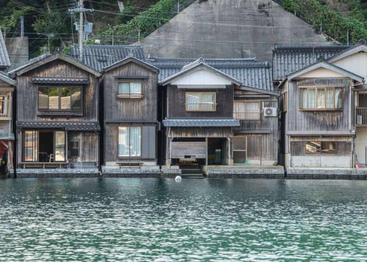 伊根船屋-海邊的靜謐小鎮(京都)