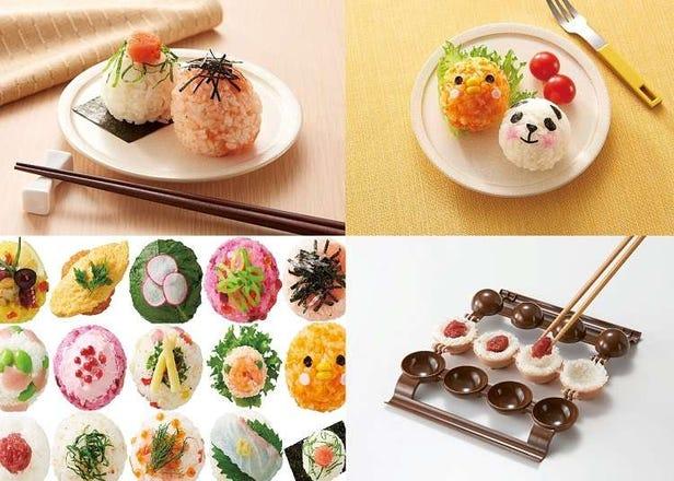 輕鬆做出可愛小飯糰!日本廚房道具「飯糰PON!PON!」超萌開賣