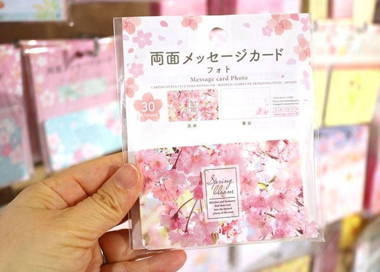 2. Double-sided Message Cards: Perfect for conveying a message