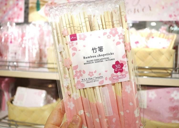 6. Bamboo Chopsticks: A popular item during sightseeing season