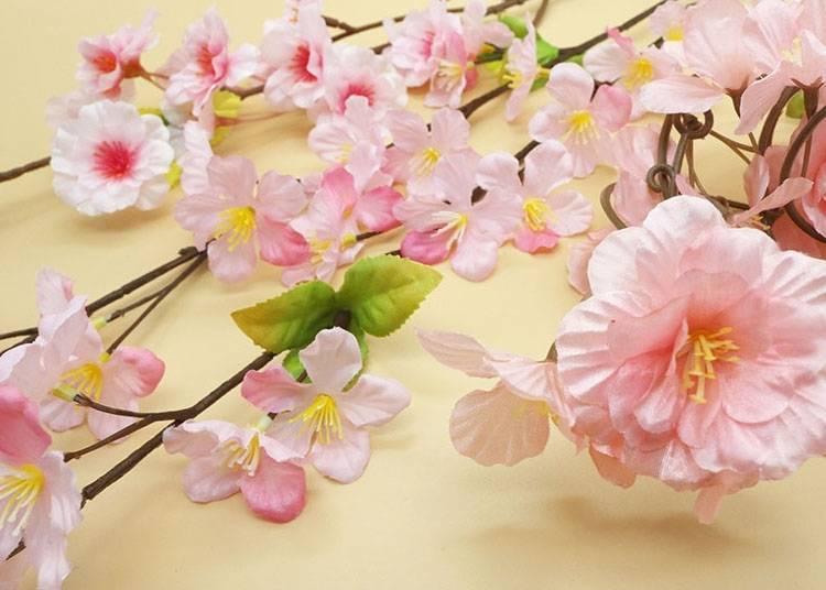 簡單就能營造出春天的氣氛「人造花」