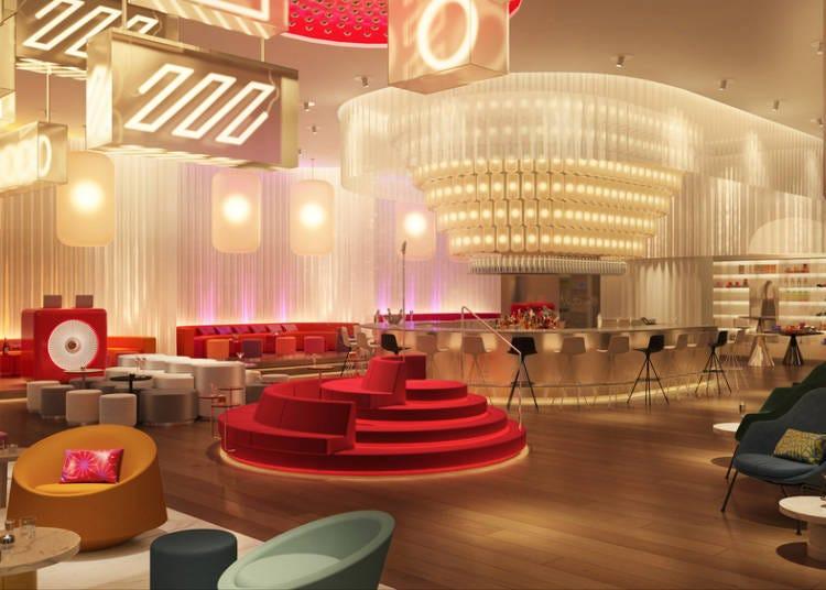 [3/16(화) 오픈] 안도 다다오 디자인! 고감도의 메리어트 계열 호텔 'W Osaka'