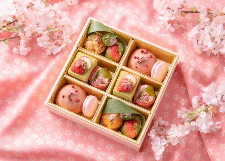 桜×旬のフルーツが盛りだくさんのお花見スイーツボックス【インターコンチネンタルホテル大阪】