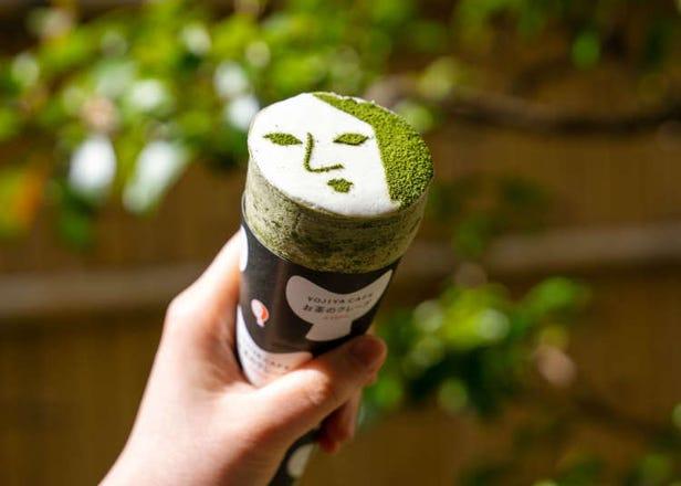 京都・嵐山の最新抹茶スイーツ!「よーじやカフェ お茶のクレープ」が大人気