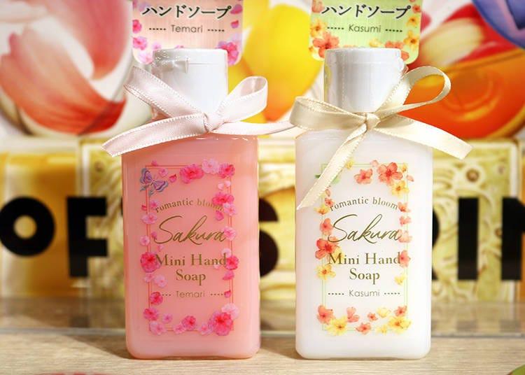 【商品6】洗手必需品「迷你洗手乳 手毬櫻」 、「迷你洗手乳 霞櫻」