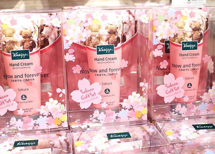 【商品8】春意滿溢的櫻花禮品「Kneipp 櫻花禮品組合」