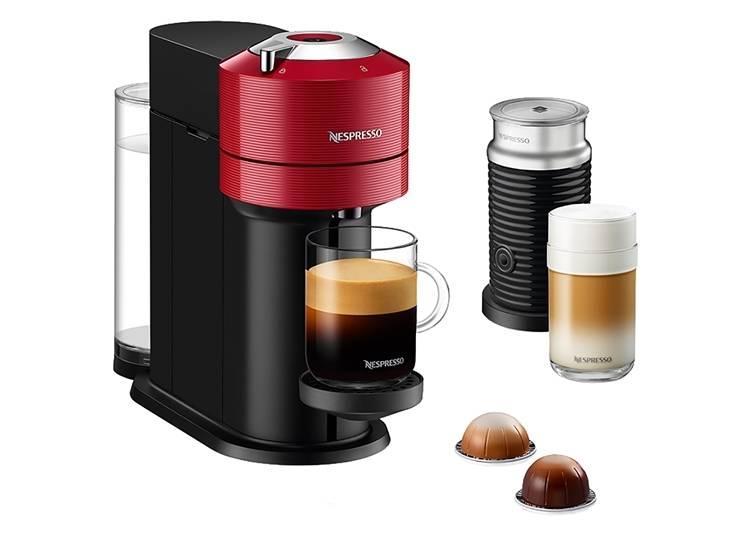 3.自宅で手軽に本格コーヒーを楽しめる「ヴァーチュオ ネクスト バンドルセット」