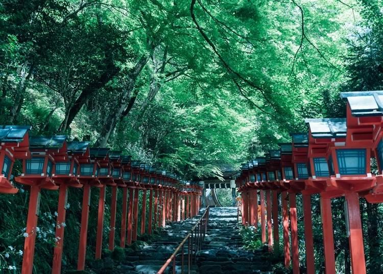 4.京都の避暑地の代表格「貴船」