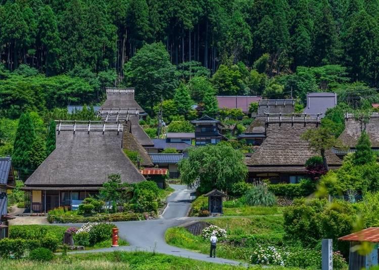 8.ノスタルジックな原風景と美食に浸る「美山かやぶきの里」