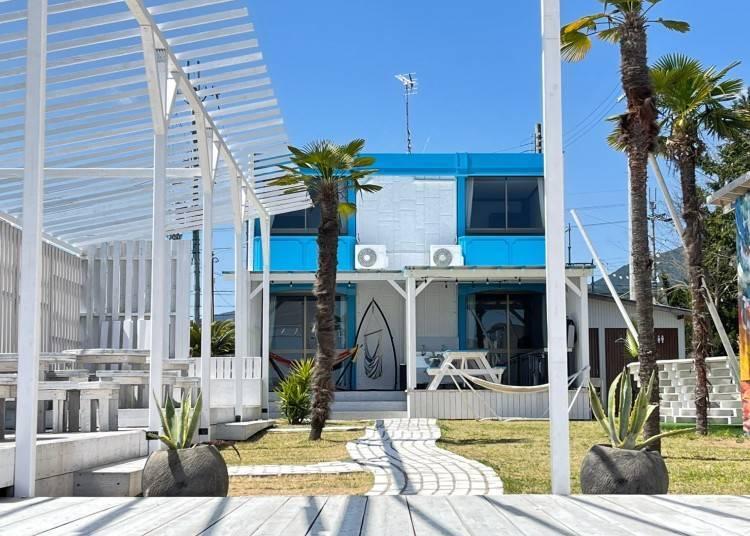 1. 비와호 호숫가에 있는 독채형 절경 하우스 'BEACH HOUSE WANI' [시가현]
