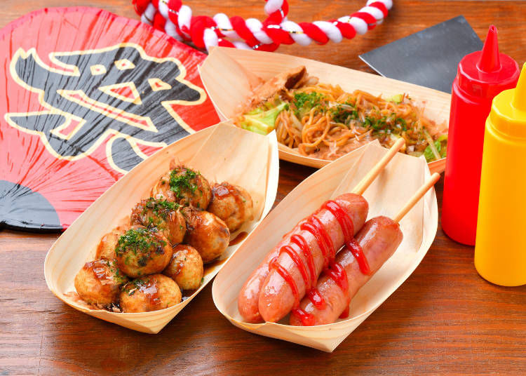 日本のお祭りでの屋台グルメ9選