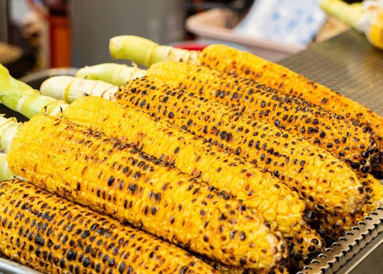 9.香氣撲鼻讓人胃口大開~烤玉米