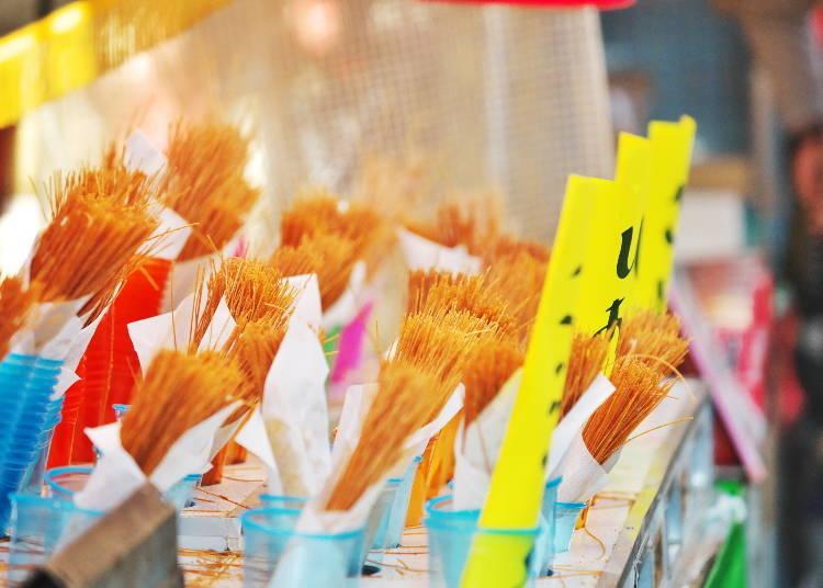 1.恰到好處的鹹度和酥脆口感,現正大流行~炸義大利麵條