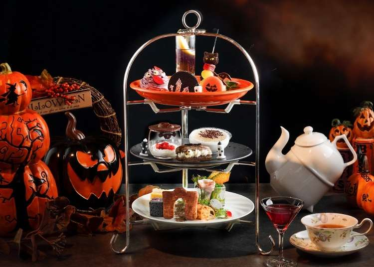 Tastes of Halloween and Fall: Autumn Afternoon Tea at 5 Luxury Hotels in Osaka   LIVE JAPAN travel guide