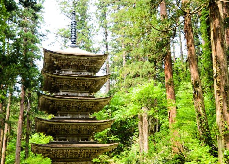 2. Mount Haguro