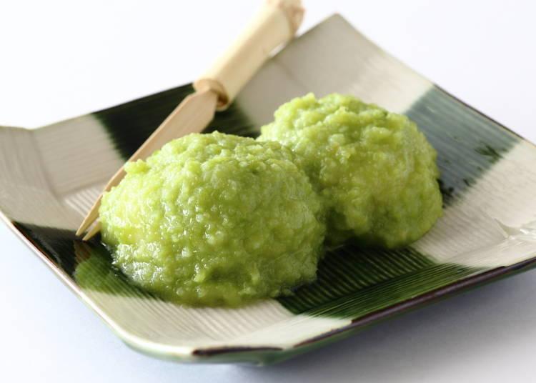 12. Enjoy Zunda-mochi Sweets