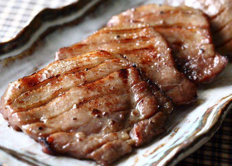 1. Gyutan (Beef Tongue)
