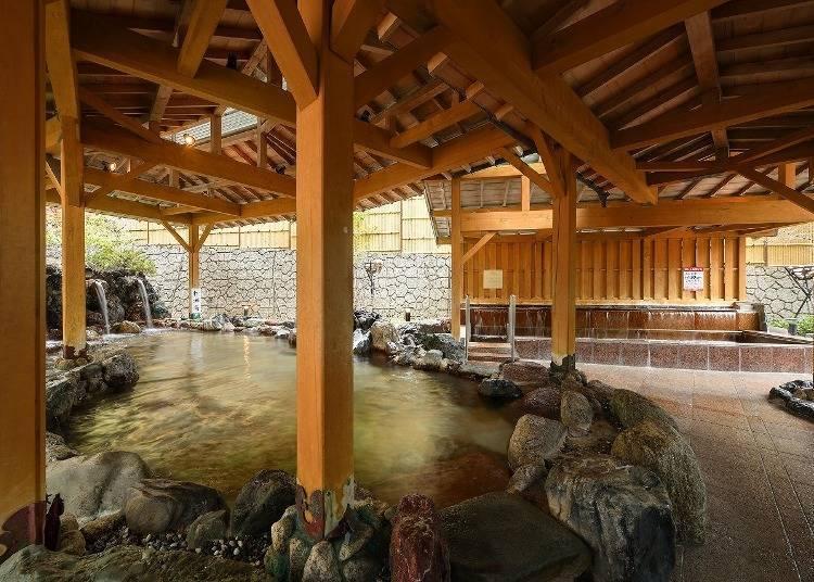 5. Soak in Sendai's famous hot springs at Akiu Onsen