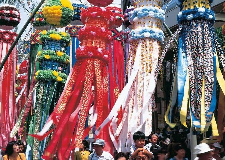 7. Participate in Sendai's summer Tanabata Festival
