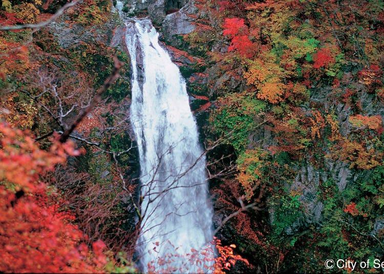 30. Akiu Otaki Falls