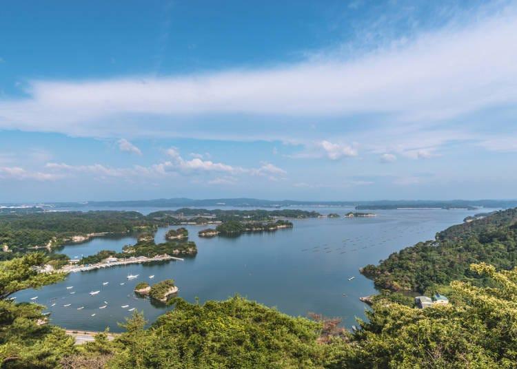 3.日本三景・松島湾で絶景を望む