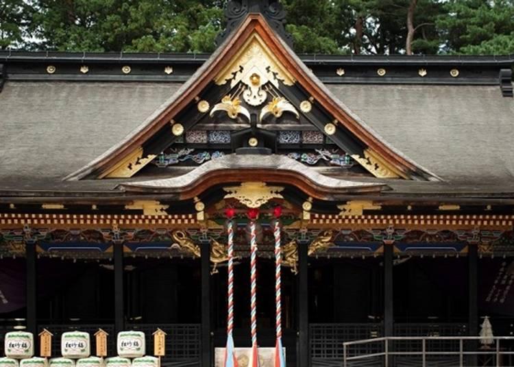 26.「大崎八幡宮」で健康と幸運を祈願する