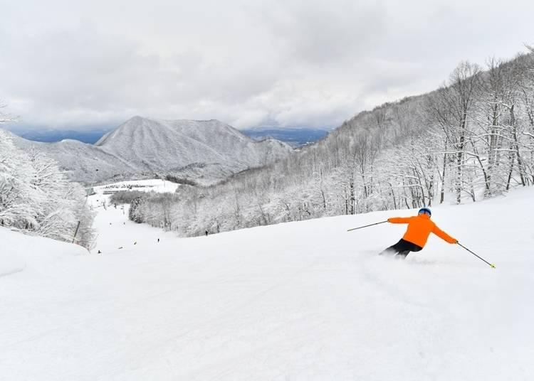 27.「スプリングバレー泉高原スキー場」でスキー&スノボを楽しむ
