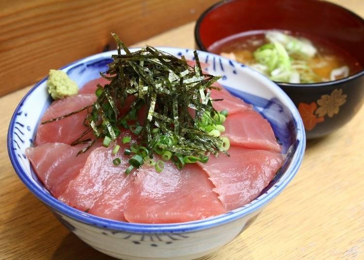 14. 시장과 상점에서 시오가마의 참치를 먹자