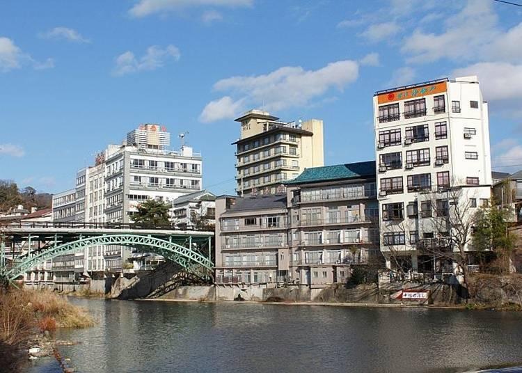 18. Soak in the hot waters of Iizaka Onsen