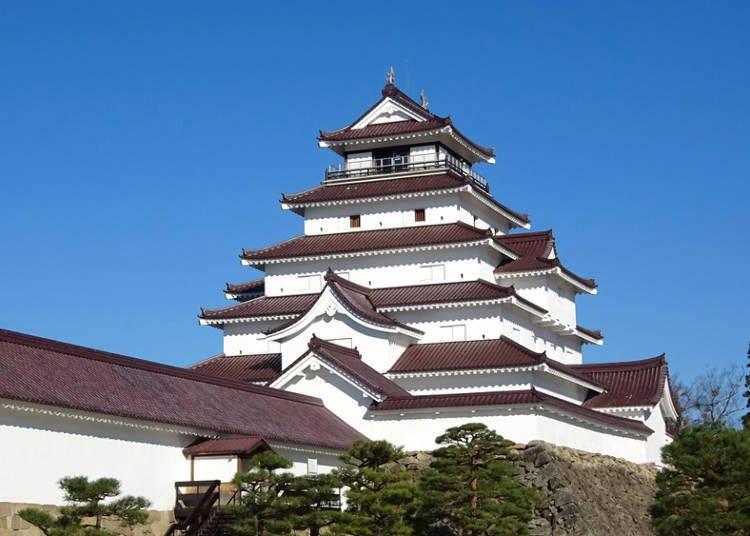 1.「鶴ヶ城」を鑑賞する