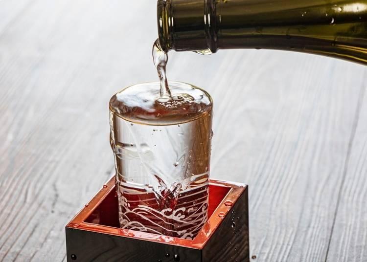 17.福島生まれの日本酒を飲む