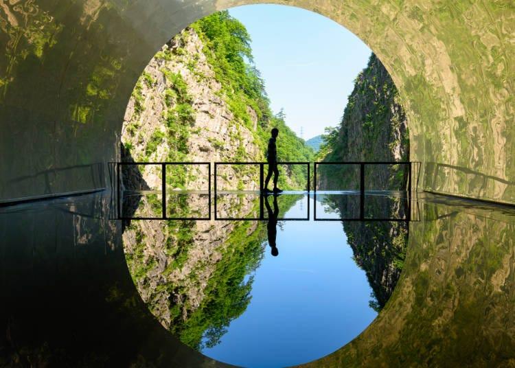 1.清津峡で絶景を眺める