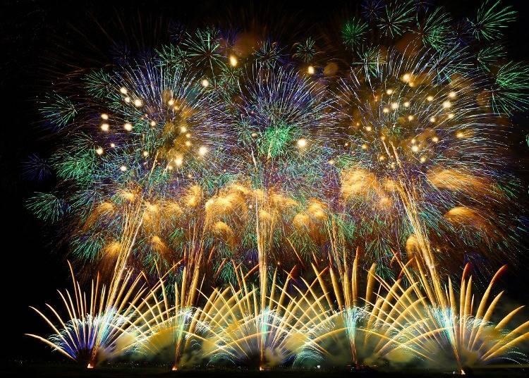12. 나가오카 오하나비 대회(불꽃놀이)를 관람하기