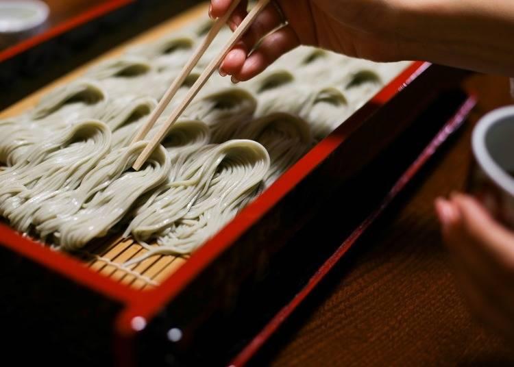 新潟自由行體驗⑨鄉土料理Hegi蕎麥麵