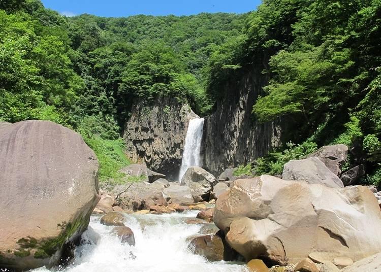 新潟自由行體驗⑰苗名瀑布