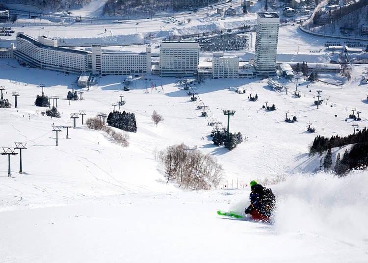 新潟自由行體驗㉑苗場滑雪場