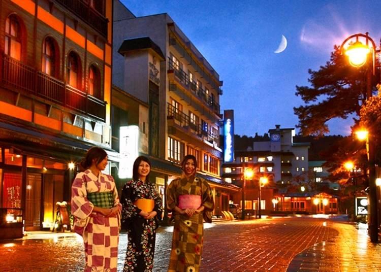 新潟自由行體驗㉓月岡溫泉