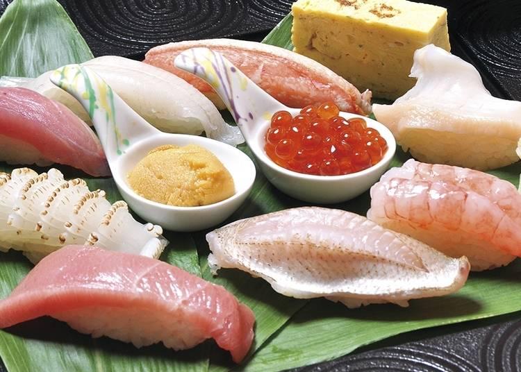 新潟自由行體驗㉖極品壽司