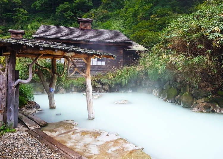 12. 뉴토 온천 마을에서 유명 온천을 즐기다